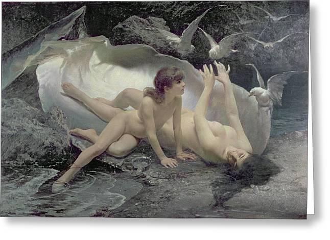 Nymph Greeting Cards - The Naiads Greeting Card by Gioacchino Pagliei