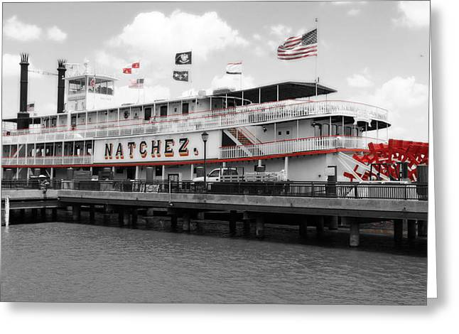 Eye4life Photography Greeting Cards - The Natchez Greeting Card by Alicia Morales