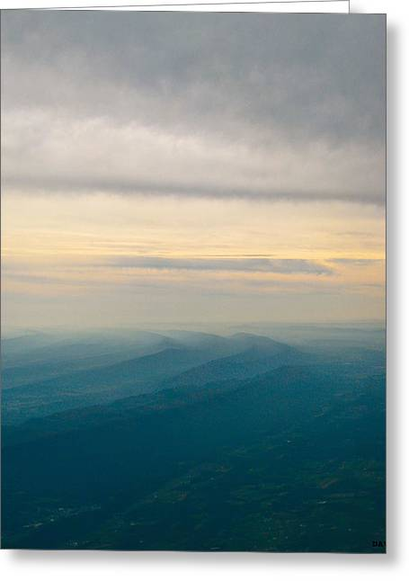 The Natural Movement  Greeting Card by Debra     Vatalaro