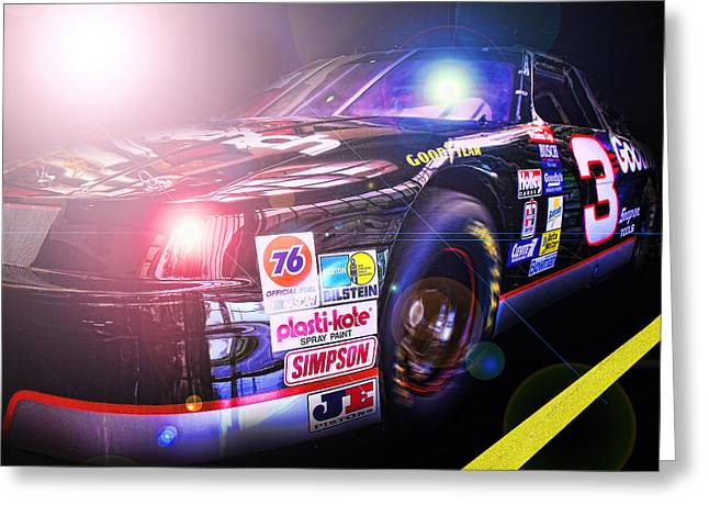 Charlotte Greeting Cards - The Need For Speed 3 Greeting Card by Kenneth Krolikowski