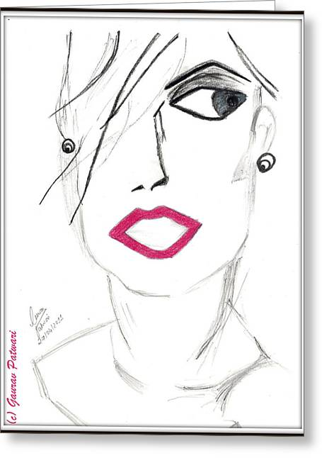 Positive Attitude Drawings Greeting Cards - The New Look Greeting Card by Gaurav Patwari