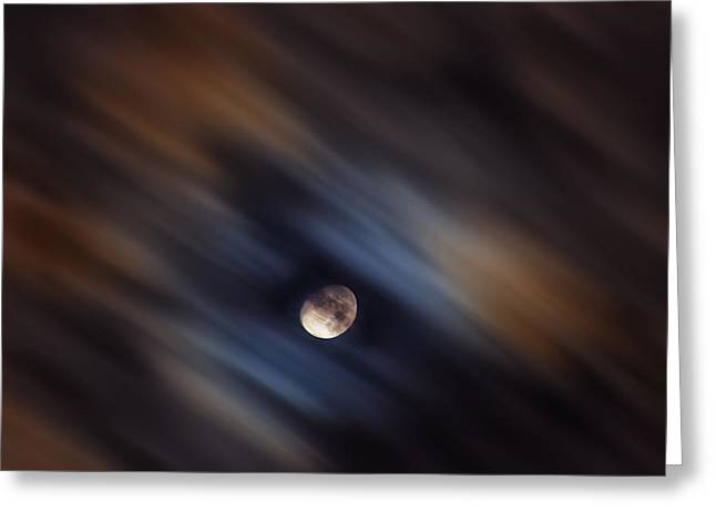 Jeka World Photography Greeting Cards - The Nights a Blur Greeting Card by Jeff Rose