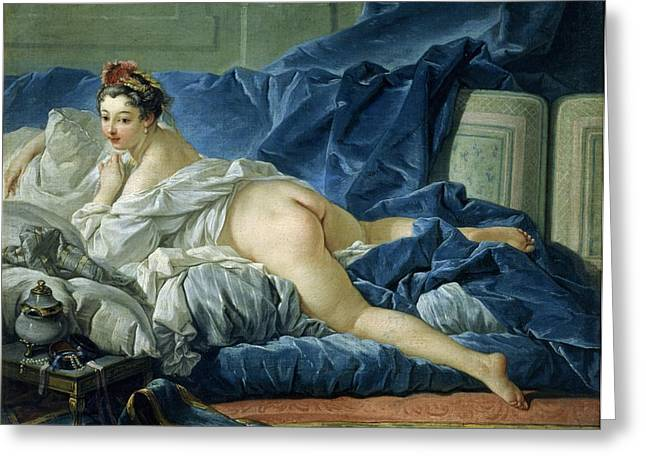 Francois Greeting Cards - The Odalisque Greeting Card by Francois Boucher