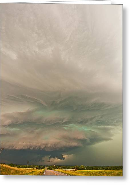 Supercell Greeting Cards - The Odell Beast Greeting Card by Chris  Allington