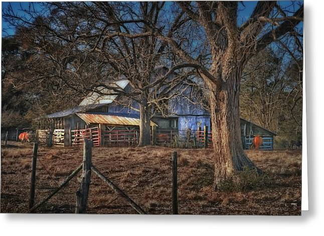Brenda Bryant Greeting Cards - The Old Barn Greeting Card by Brenda Bryant