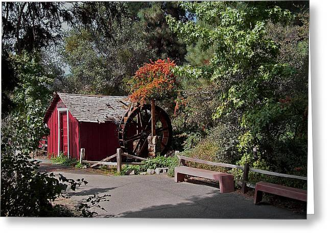 The Old Mill 1 Greeting Card by Ernie Echols