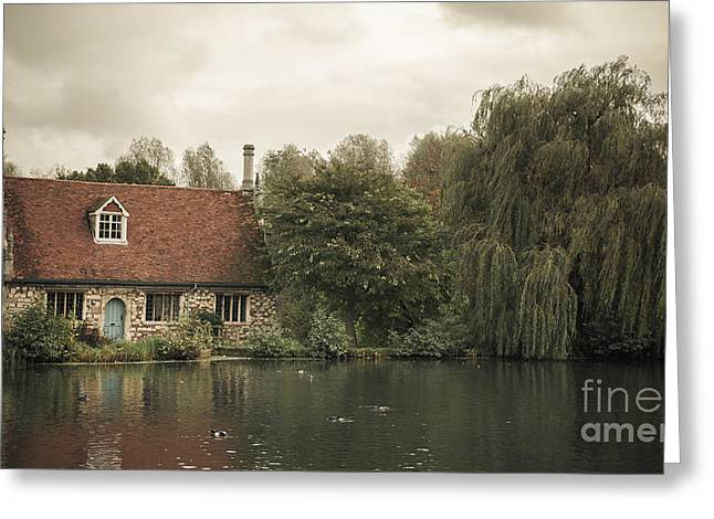 Constable Greeting Cards - The Old Mill Greeting Card by Peter Smith