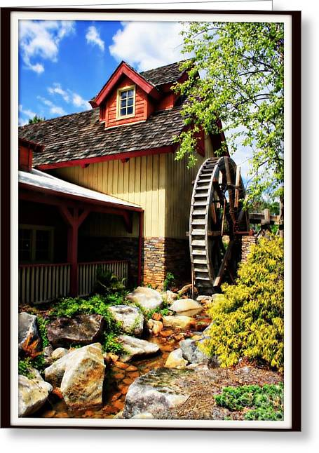 Dream Scape Greeting Cards - The Old Mill Greeting Card by Teresa Davis