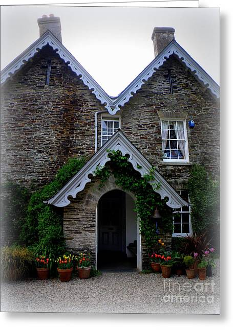 Lainie Wrightson Greeting Cards - The Old Rectory at St. Juliot Greeting Card by Lainie Wrightson