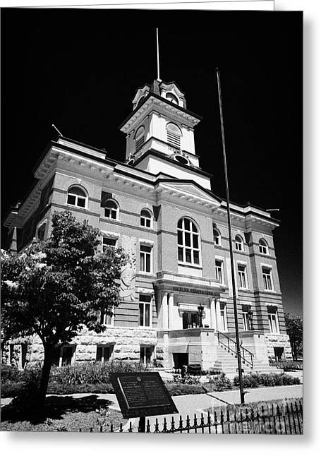 Quartier Greeting Cards - The Old Town Hall Hotel De Ville French Quarter Winnipeg Manitoba Canada Greeting Card by Joe Fox