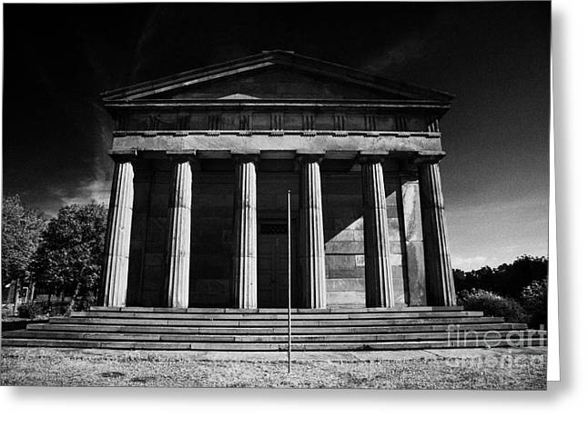 Oratory Greeting Cards - The Oratory former chapel of St James Cemetery Liverpool Merseyside england uk Greeting Card by Joe Fox