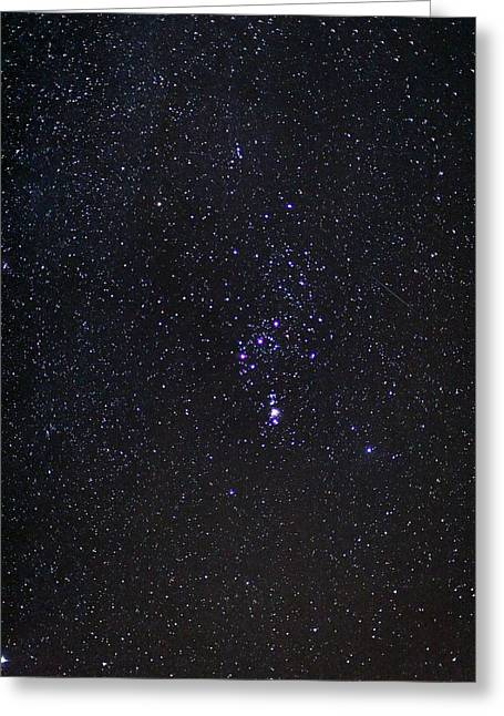 Astronomic Greeting Cards - The Orion Constellation Greeting Card by Laurent Laveder
