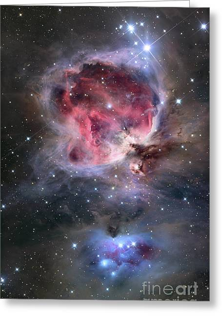 Interstellar Space Greeting Cards - The Orion Nebula Greeting Card by Roth Ritter