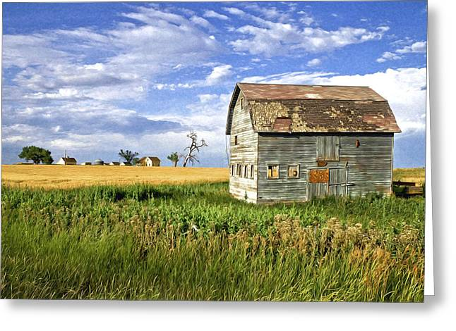 Farmers Field Greeting Cards - The Outcast Greeting Card by James Steele