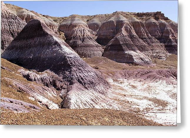 Petrified Forest National Park Greeting Cards - The Painted Desert Greeting Card by Adam Jewell