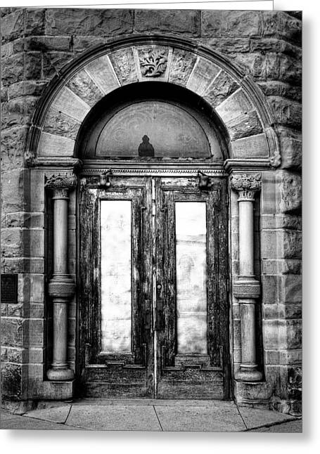 Silver City Greeting Cards - The Palace Doors Greeting Card by Fred Lassmann