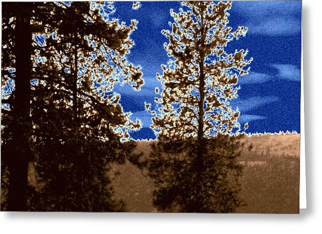 Concern Digital Art Greeting Cards - The Parched Land  Greeting Card by Will Borden