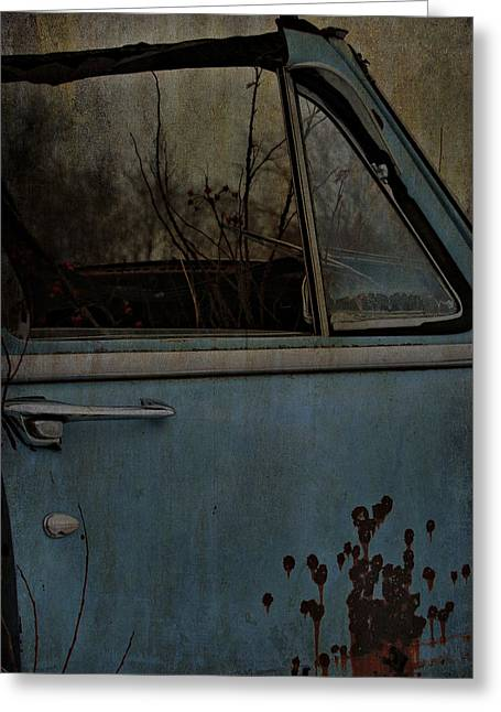 The Passenger  Greeting Card by Jerry Cordeiro