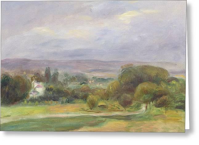 Renoir Greeting Cards - The Path Greeting Card by Pierre Auguste Renoir