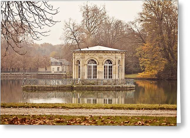 Fontainebleau Forest Greeting Cards - The Pavilion Greeting Card by Melanie Alexandra Price