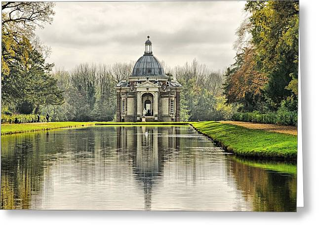 The Pavillion Greeting Card by Chris Thaxter