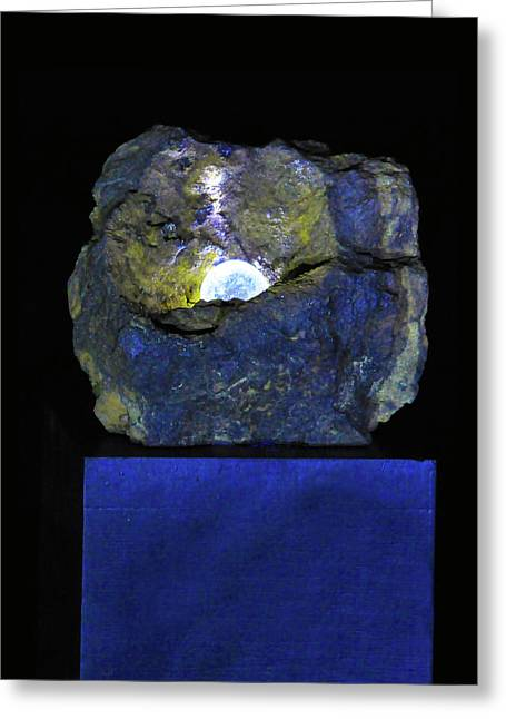 Rock Sculptures Greeting Cards - The Pearl Greeting Card by Tommy  Urbans