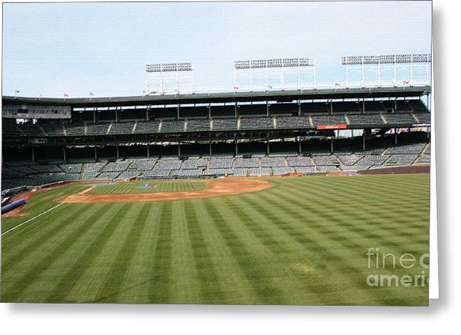 Friendly Confines Greeting Cards - The Perfect Manicure Greeting Card by David Bearden
