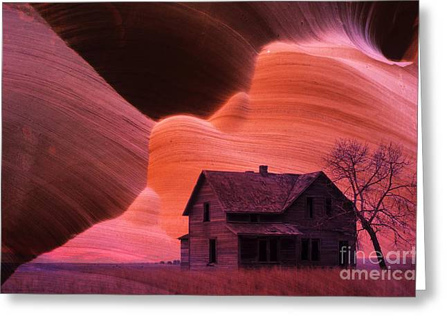 The Perfect Storm Greeting Card by Bob Christopher