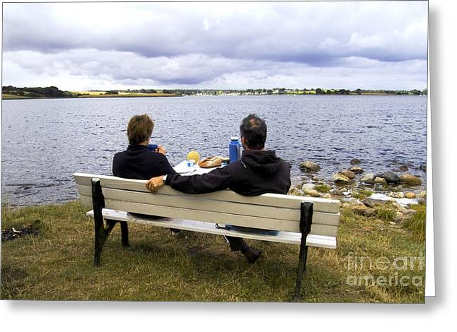 Leisure Time Greeting Cards - The Picnic Greeting Card by Heiko Koehrer-Wagner