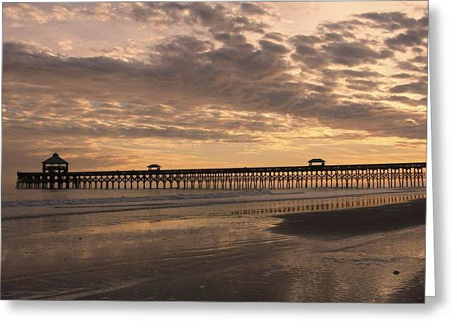 Bonnes Eyes Fine Art Photography Greeting Cards - The Pier Greeting Card by Bonnes Eyes Fine Art Photography