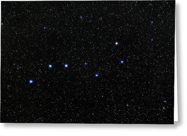 Asterism Greeting Cards - The Plough Asterism In Ursa Major Greeting Card by Eckhard Slawik