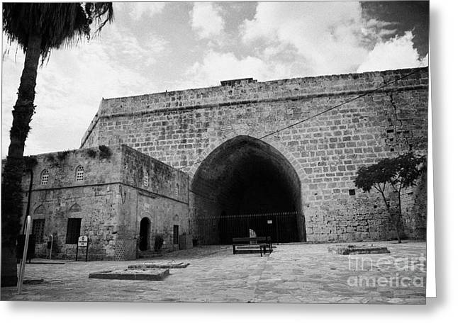 Ammochostos Greeting Cards - The Porta Di Limisso The Old Land Gate In The Old City Walls Famagusta Turkish Cyprus Greeting Card by Joe Fox