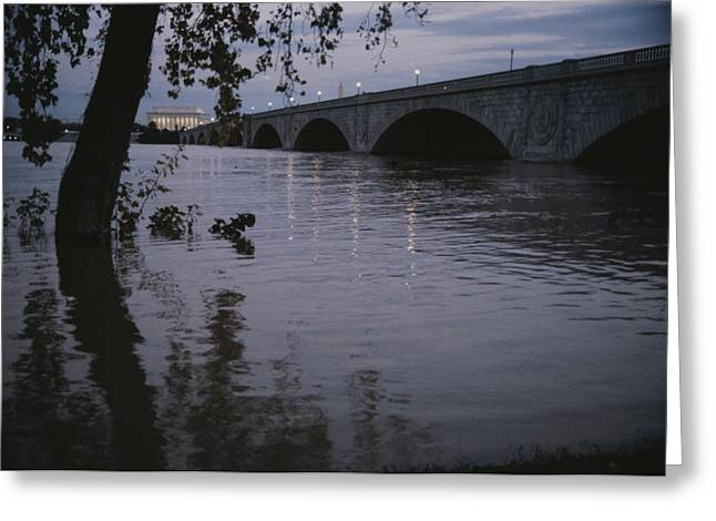 The Potomac Rivers Greeting Card by Stephen St. John