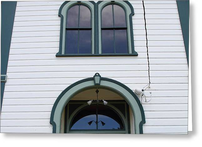 The Potter School House . Bodega Bay . Town of Bodega . California . 7D12480 Greeting Card by Wingsdomain Art and Photography