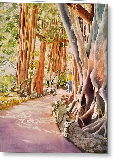 Could Reach Greeting Cards - The Power of the Banyan Greeting Card by Terry Arroyo Mulrooney