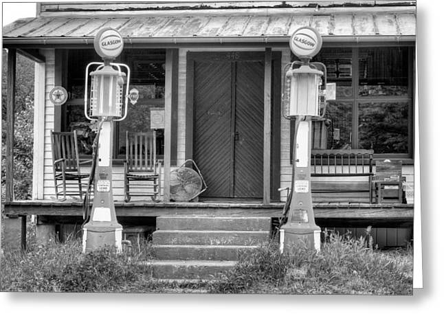 Rocking Chairs Greeting Cards - The Price was Right Greeting Card by JC Findley