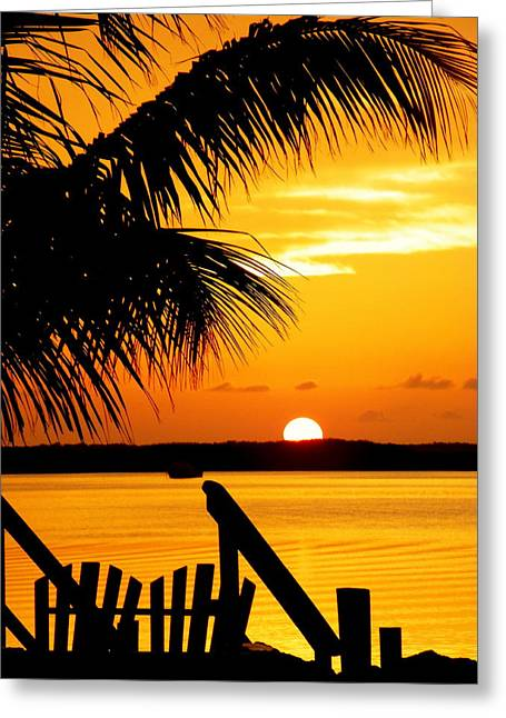 Islamorada Greeting Cards - The Promise Greeting Card by Karen Wiles