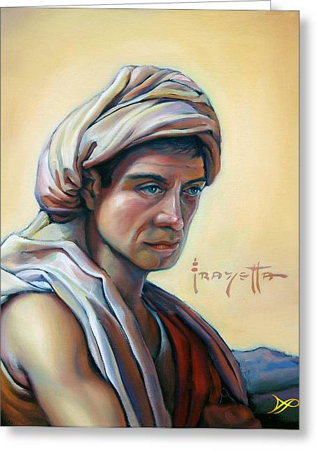 Illustrator Paintings Greeting Cards - The Prophet Greeting Card by Patrick Anthony Pierson