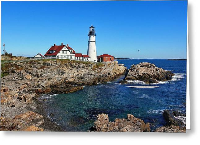 The Quintessential Maine Greeting Card by Lanis Rossi