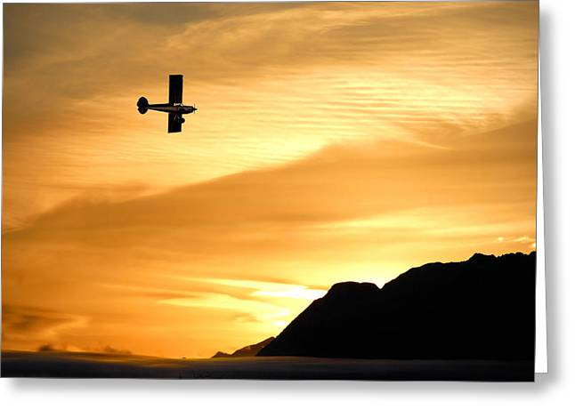 Single-engine Photographs Greeting Cards - The Reason Greeting Card by Ron Day