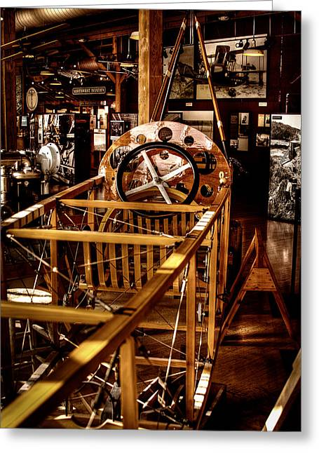 Manufacturing Greeting Cards - The Red Barn of the Boeing Company Greeting Card by David Patterson