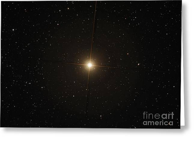 Twinkle Greeting Cards - The Red Supergiant Betelgeuse Greeting Card by Filipe Alves