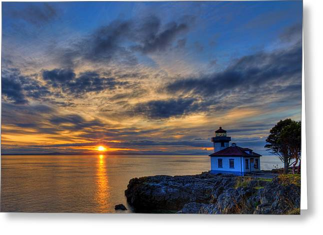 Hdr Landscape Greeting Cards - The Remains of the Day Greeting Card by Dan Mihai