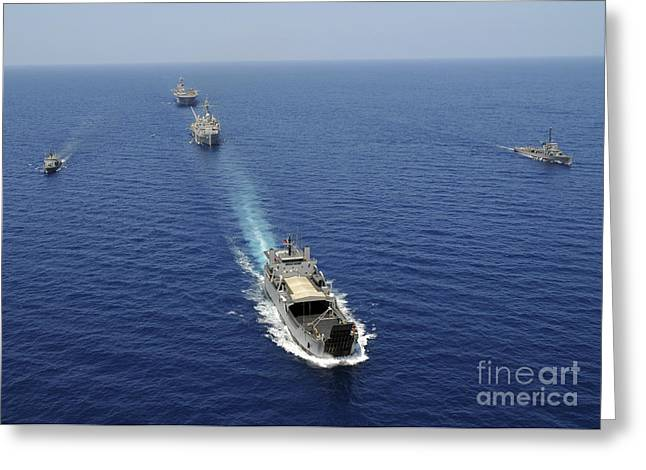 Uss Essex Greeting Cards - The Republic Of The Philippines Navy Greeting Card by Stocktrek Images