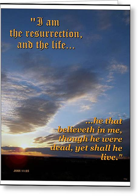 Glorify Greeting Cards - The Resurrection Greeting Card by Glenn McCarthy Art and Photography