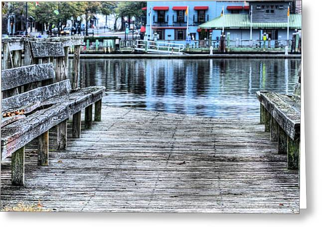 Cape Fear River Greeting Cards - The River Greeting Card by JC Findley