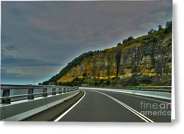 Joanne Kocwin Photographs Greeting Cards - The Road Ahead Greeting Card by Joanne Kocwin