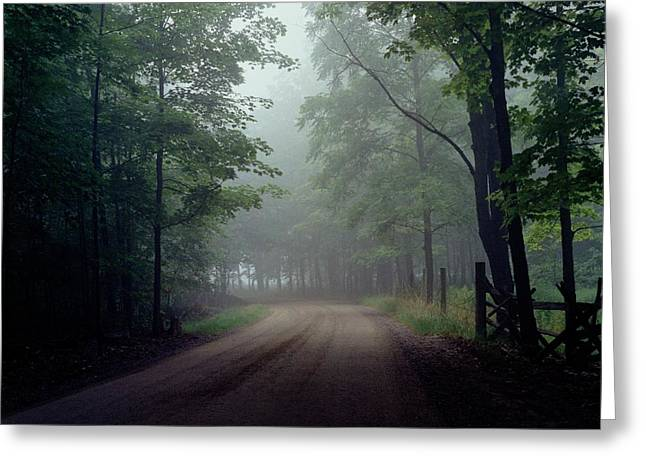 The Road Home #2 Greeting Card by Michael Swanson