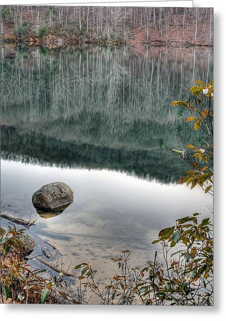 Charlottesville Greeting Cards - The Rock Greeting Card by JC Findley