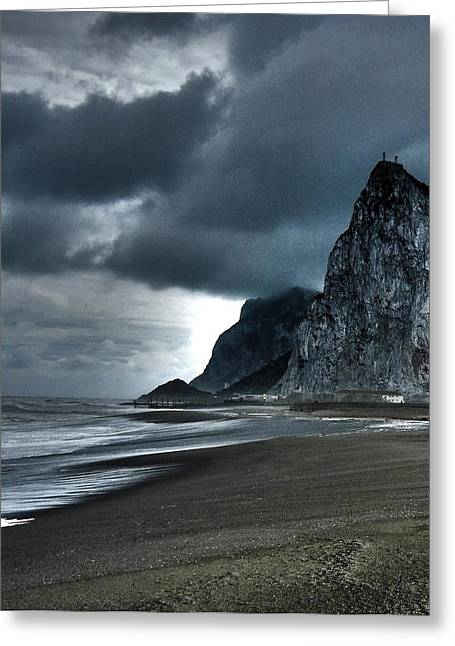 Attraktion Greeting Cards - The Rock ... Greeting Card by Juergen Weiss